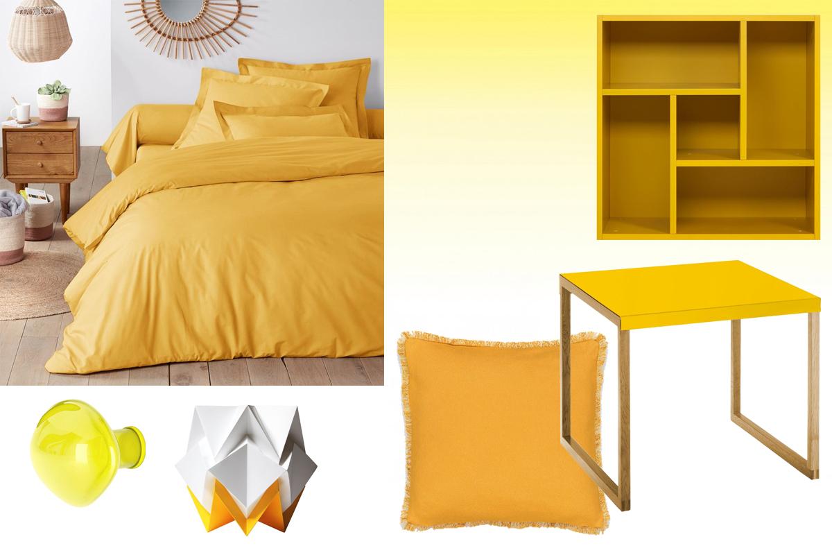 Un zeste de jaune pour illuminer ma déco | Madame Décore