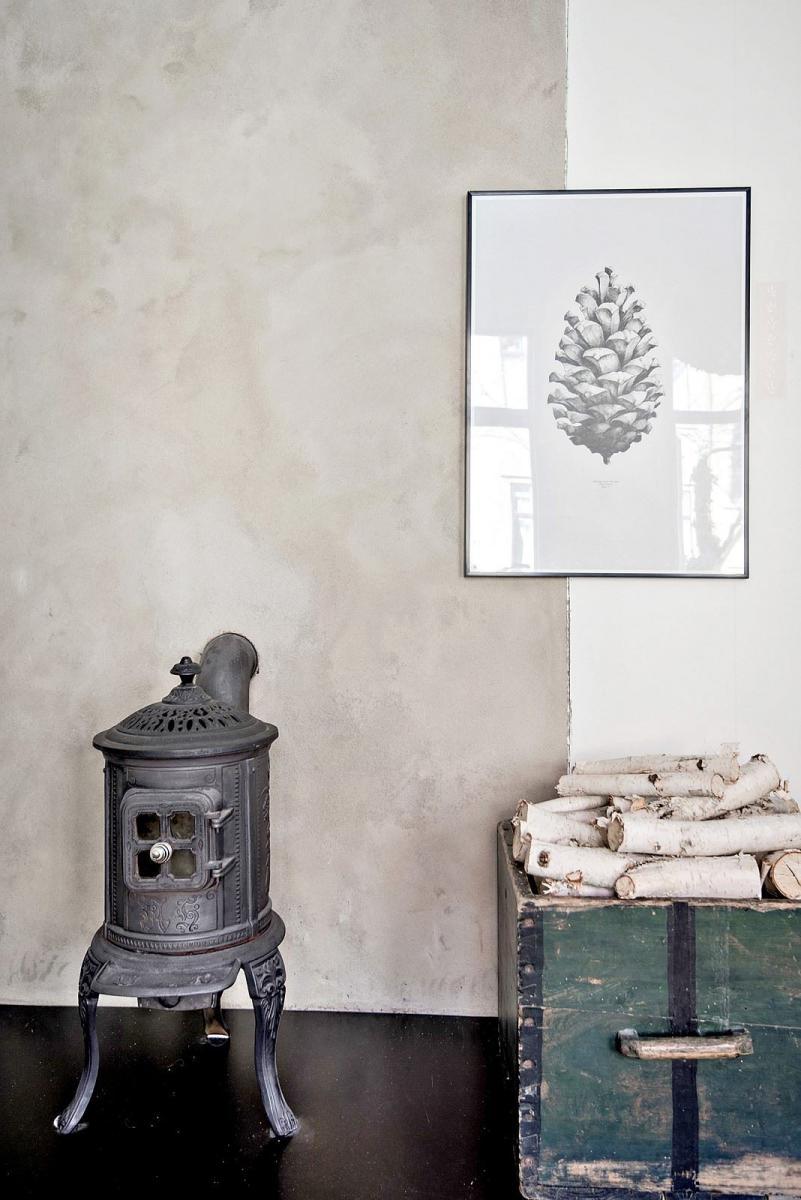 un deux pi ces scandinave de charme madame d core. Black Bedroom Furniture Sets. Home Design Ideas