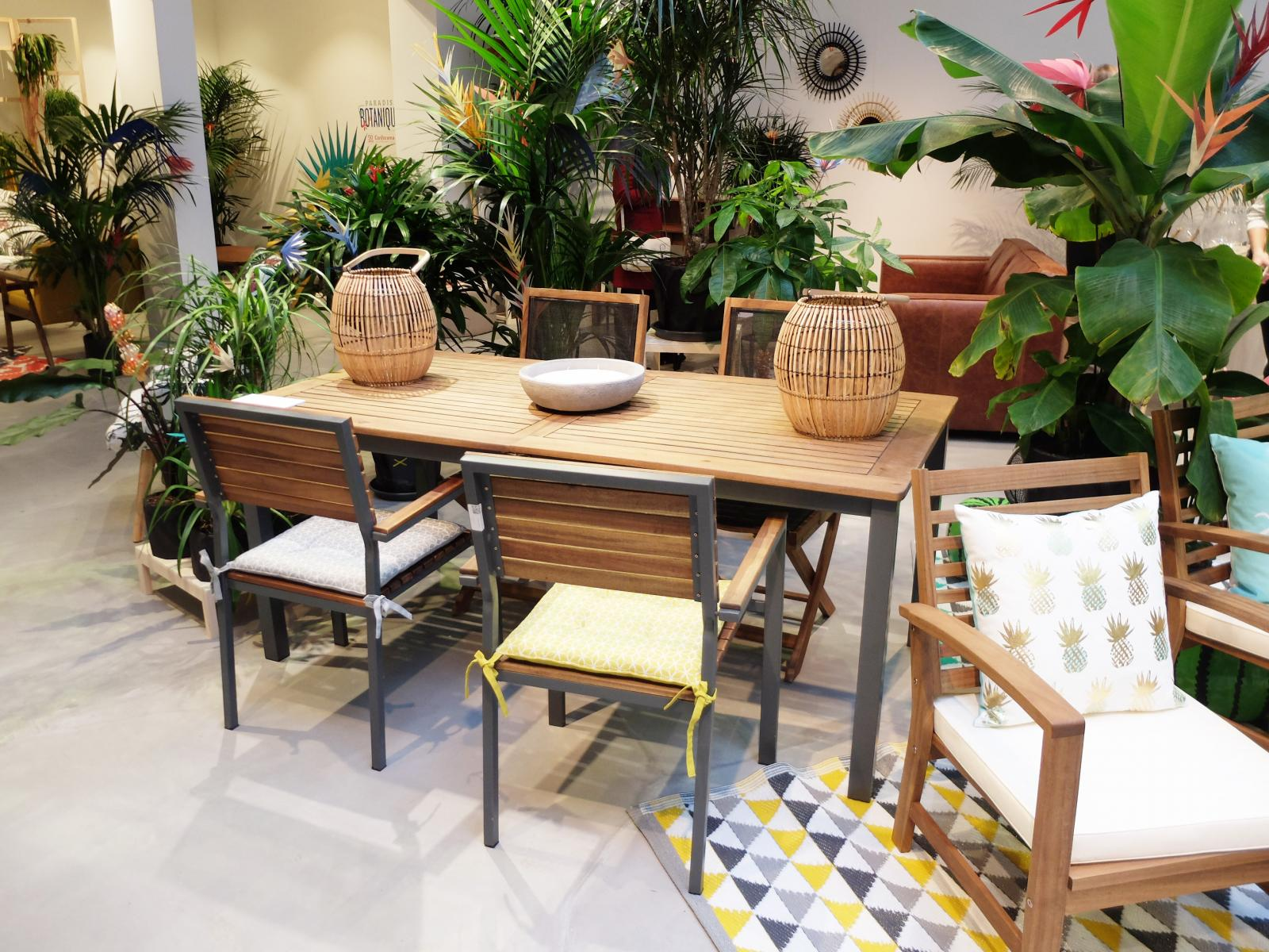 Table Balcon Conforama. Emejing Table De Jardin Bois Conforama ...