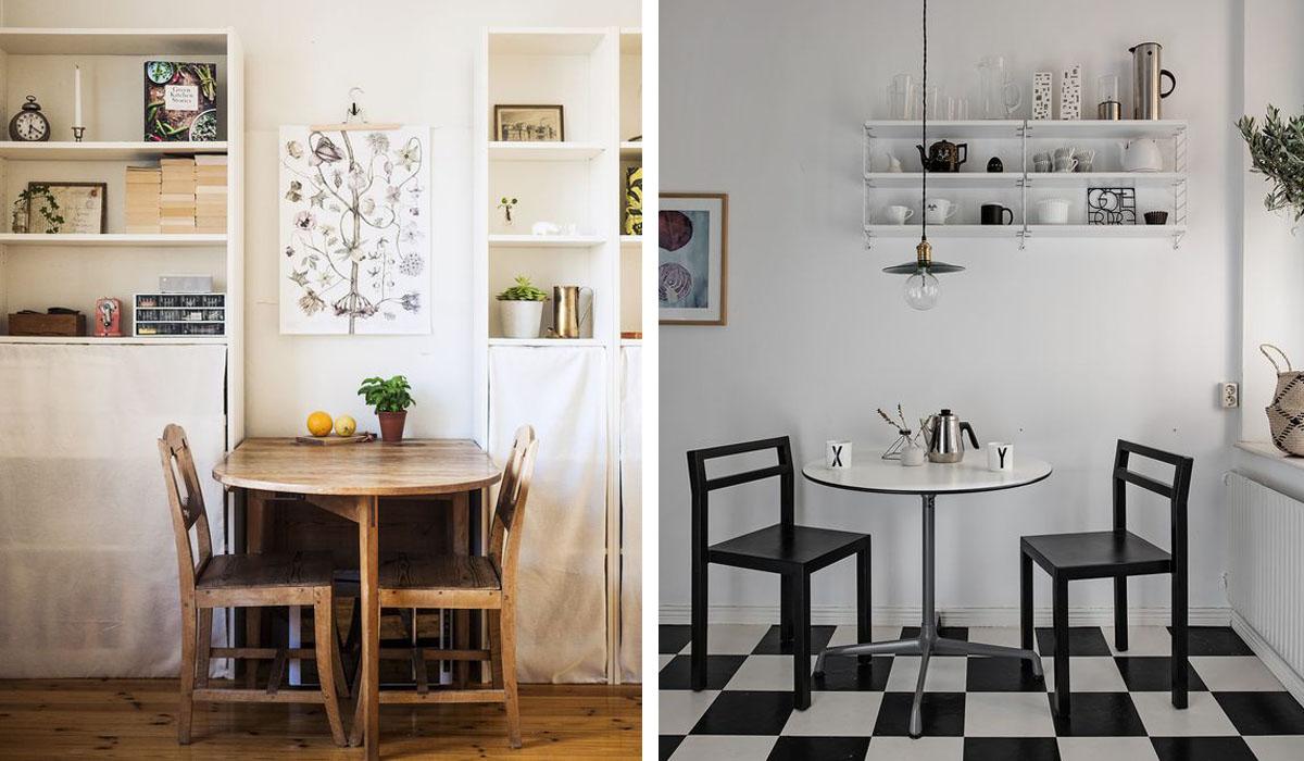 Table Rabattable Petit Espace comment meubler un petit espace ? | madame décore