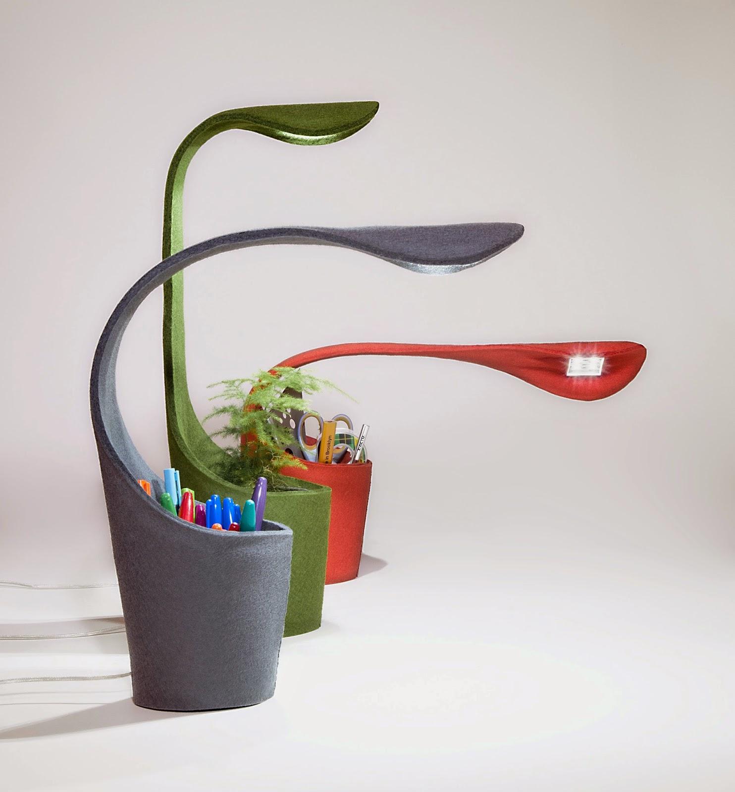Une lampe design pour mon bureau madame d core - Bureau a la maison design ...