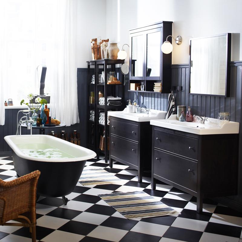 la salle de bain fait peau neuve madame d core. Black Bedroom Furniture Sets. Home Design Ideas