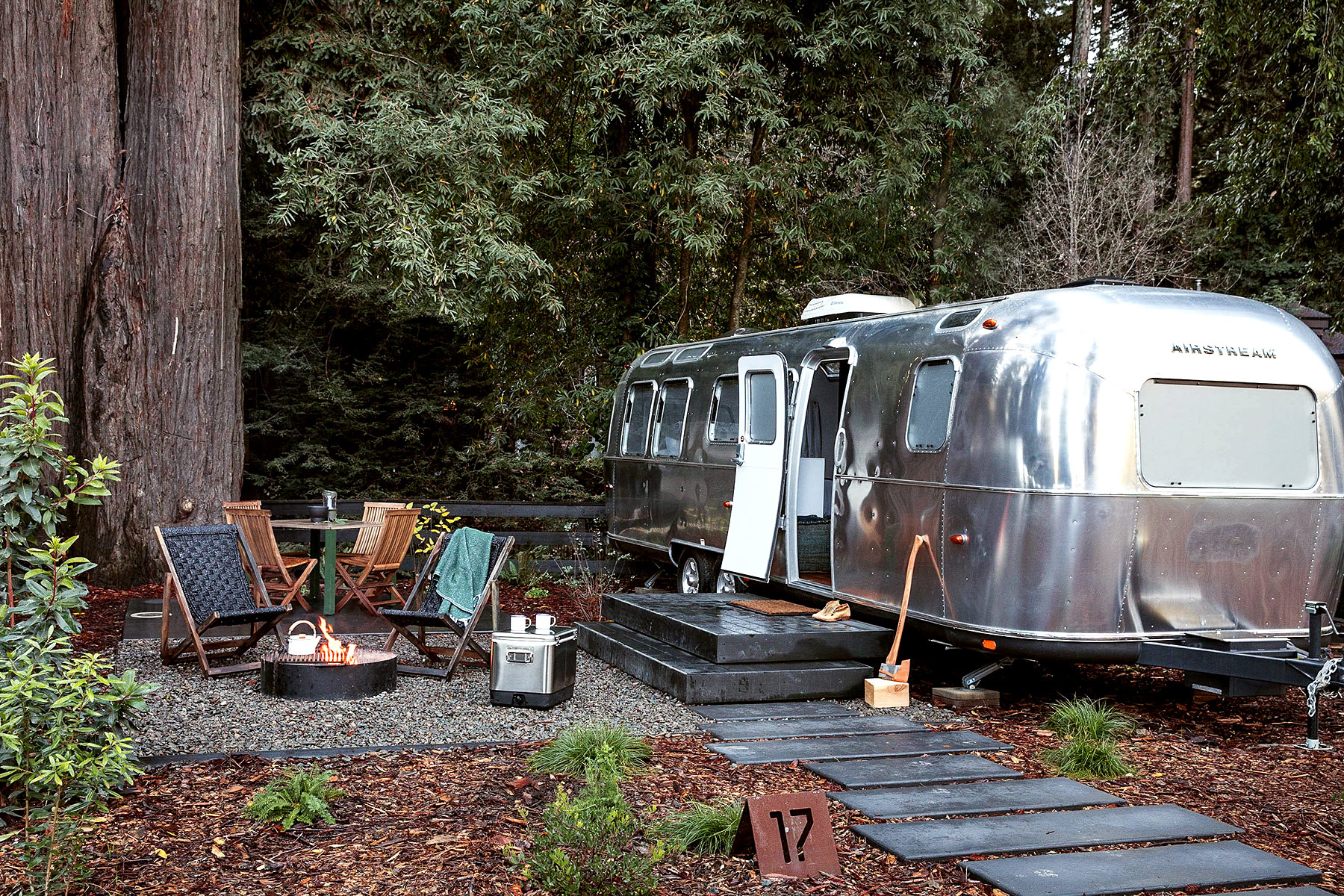 Camping Chic En Californie Madame D 233 Core