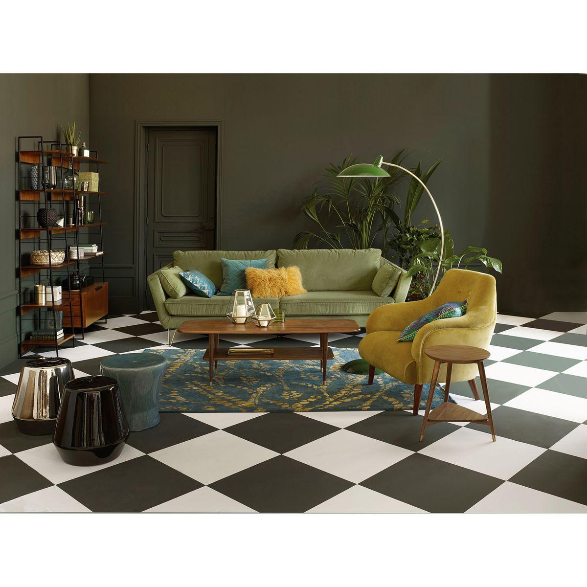 Inspiration : Je veux un canapé vert ! | Madame Décore