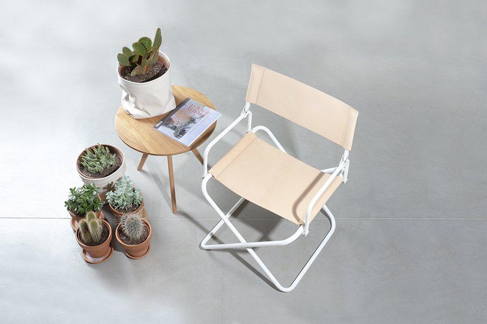 parobrod piling mesing fauteuil lafuma cuir