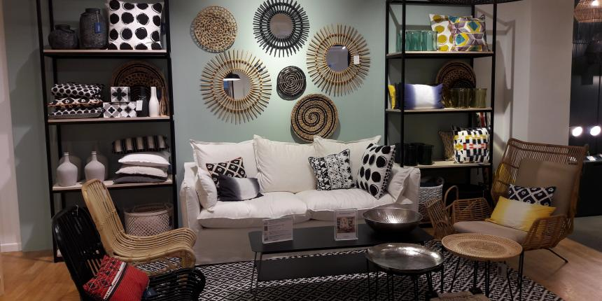 la redoute ouvre son premier showroom en france madame d core. Black Bedroom Furniture Sets. Home Design Ideas