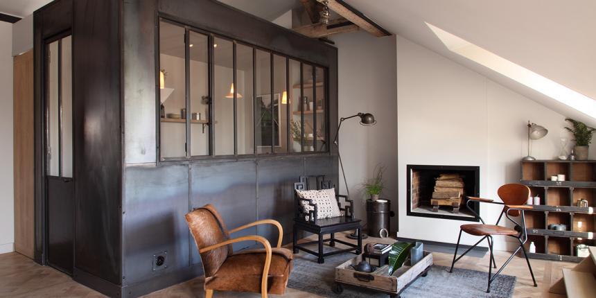 Appartement Industriel un appartement néo-industriel | madame décore