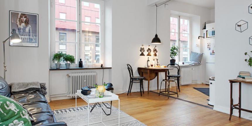 Un petit appartement cosy et stylé | Madame Décore