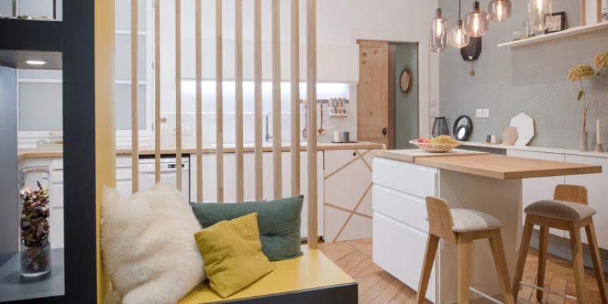 s parer sans cloisonner madame d core. Black Bedroom Furniture Sets. Home Design Ideas