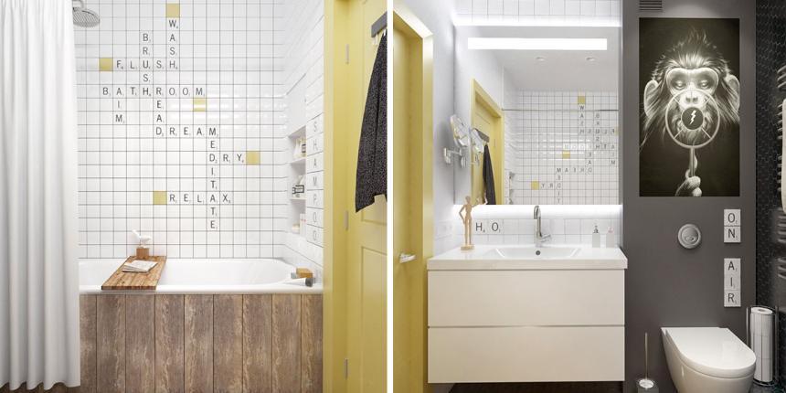 Une salle de bain pour les kids | Madame Décore