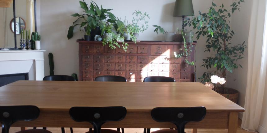 Ma salle à manger de style industriel | Madame Décore